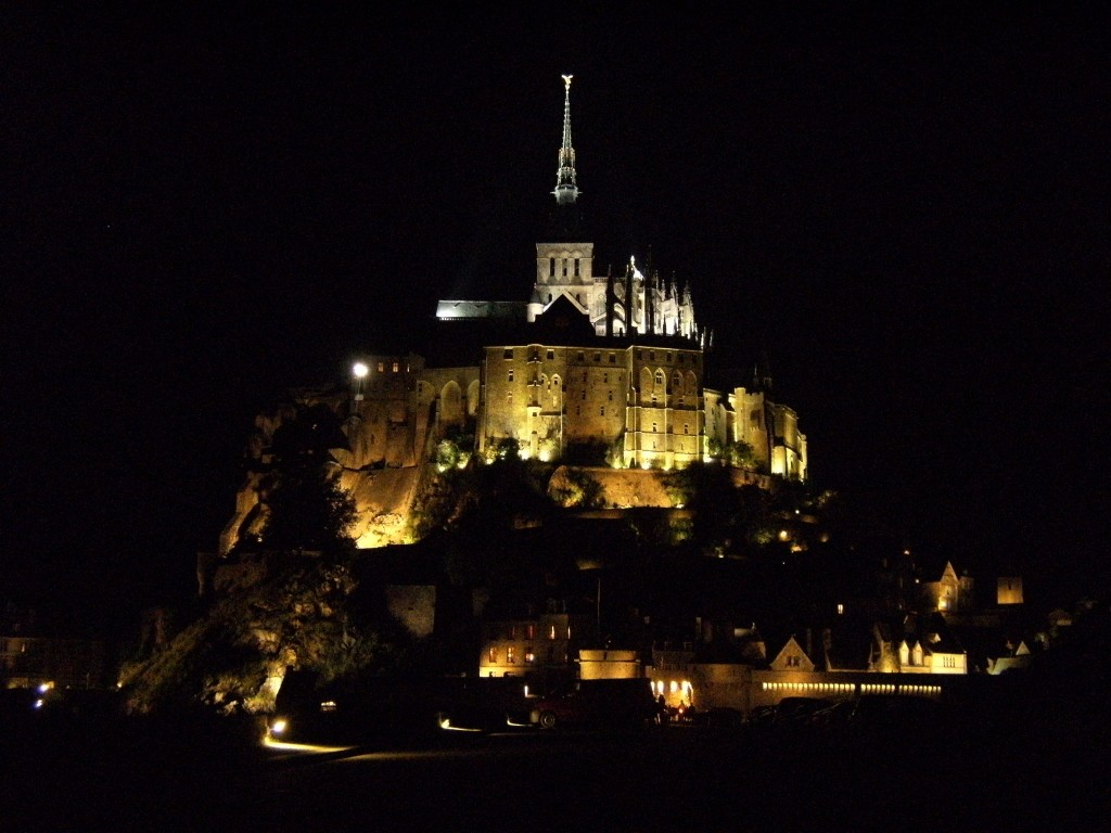France - Mt Saint-Michel Night - 2 (1024x768)