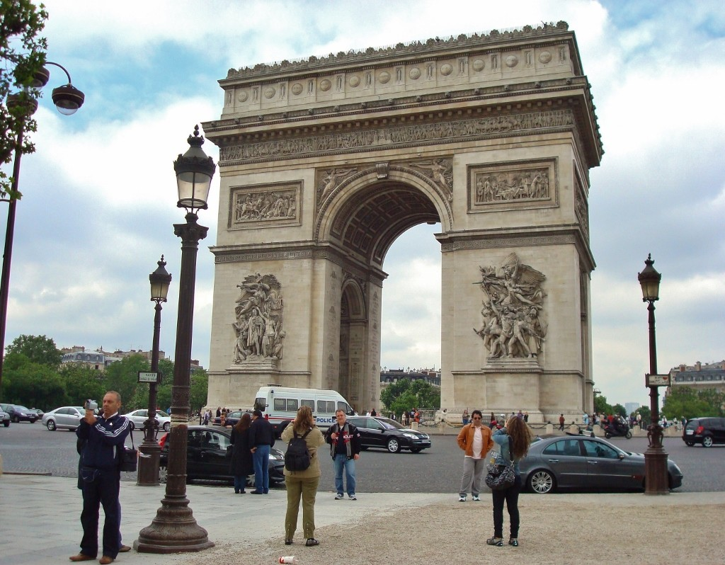 France - Paris - Arc de Triomphe - 2 (1024x798)