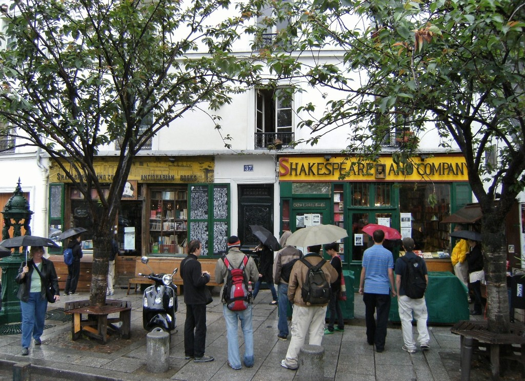 France - Paris - Shakespeare and Co - 1 (1024x744)