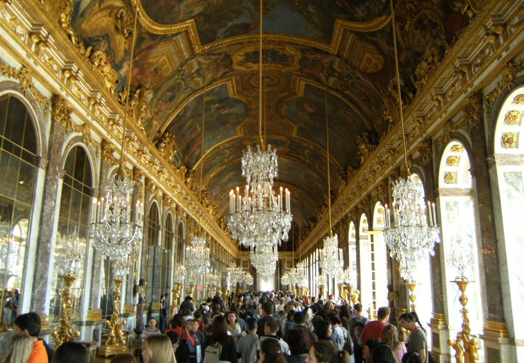 France - Versailles - Chateau Hall of Mirrors - 1