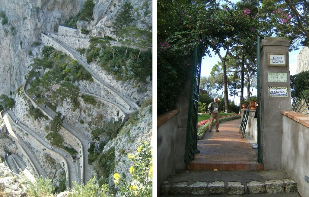Italy - Capri - August Gardens - Via Krupp - 1 (1024x654)