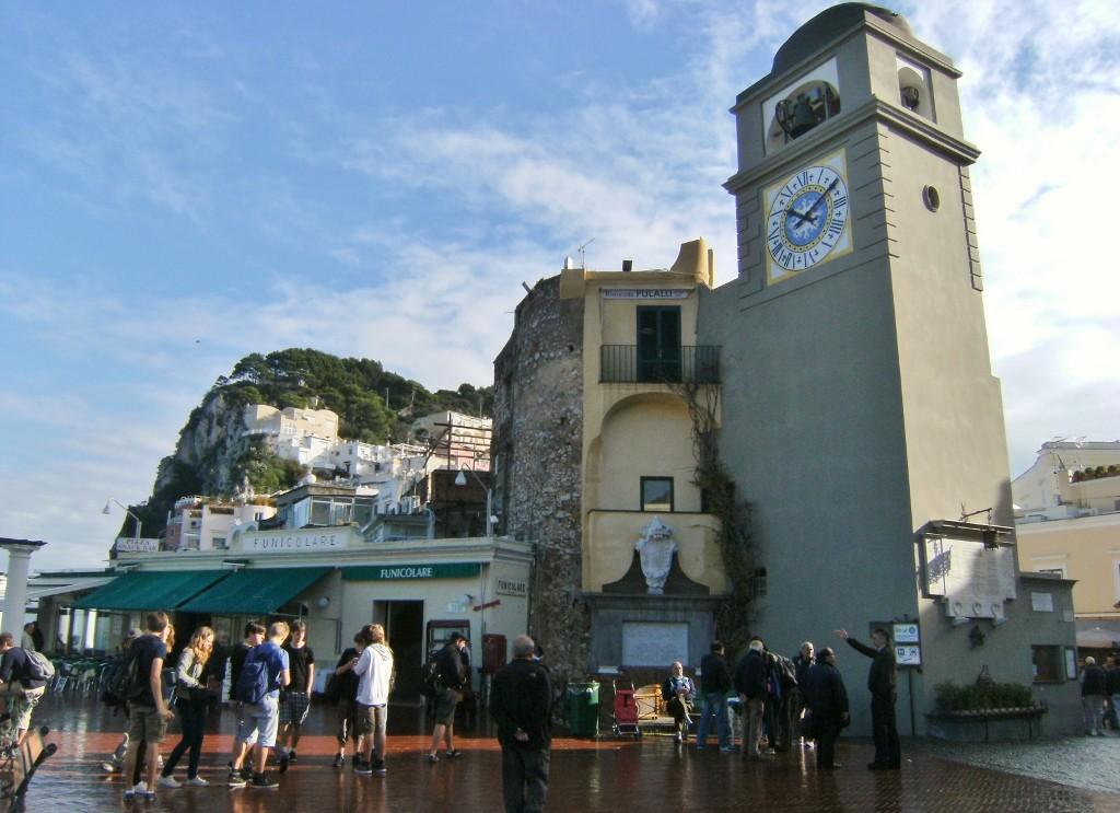 Italy - Capri - Clock Tower Piazzetta (1024x743)