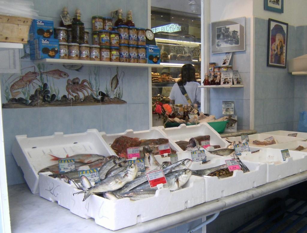 Italy - Capri - Fish Market