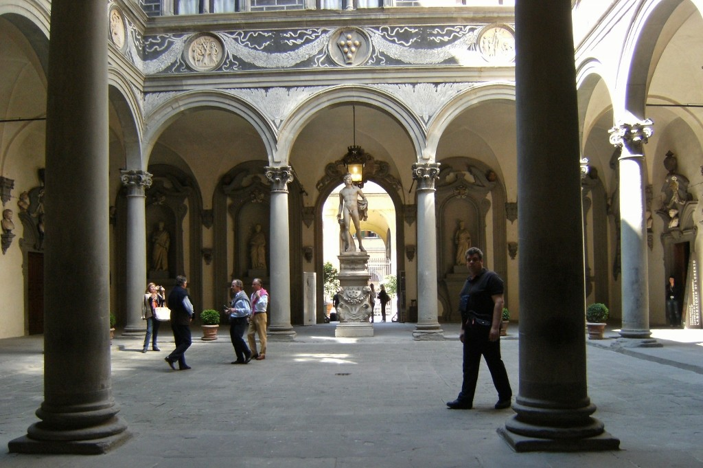 Italy - Florence - Palazzo Medici Riccardi Courtyard (1024x681)