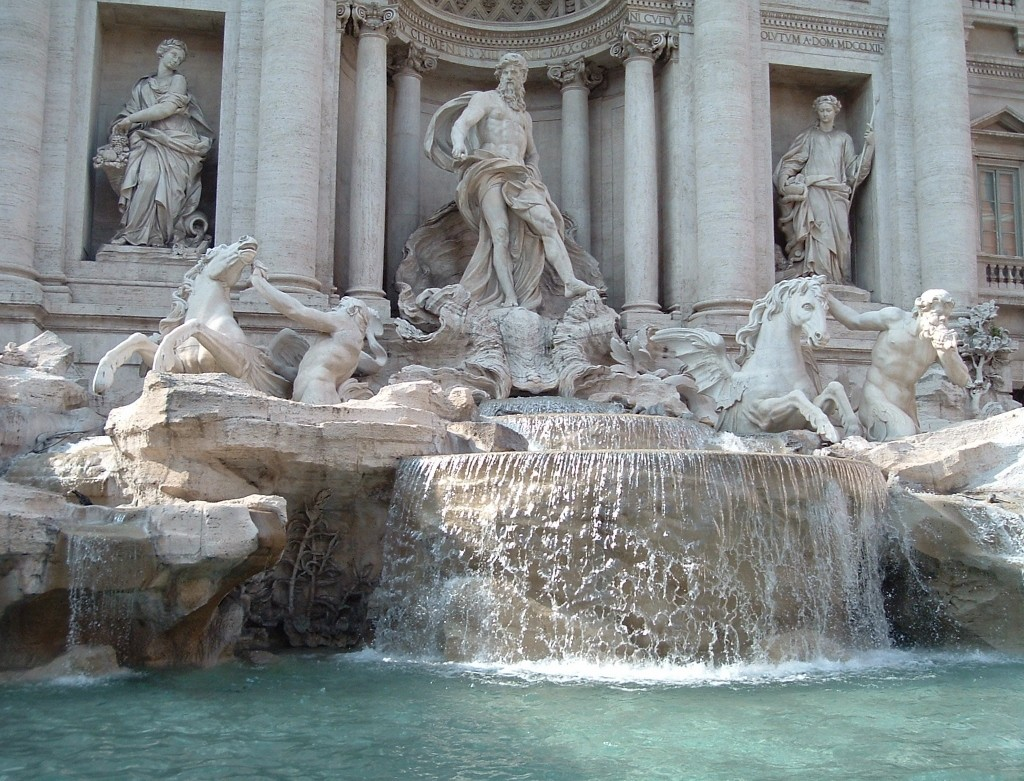 Italy - Rome - Trevi Fountain - 1 (1024x781)