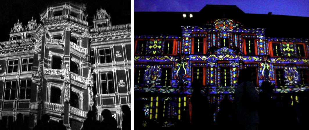 France - Blois - Techno Light Facade