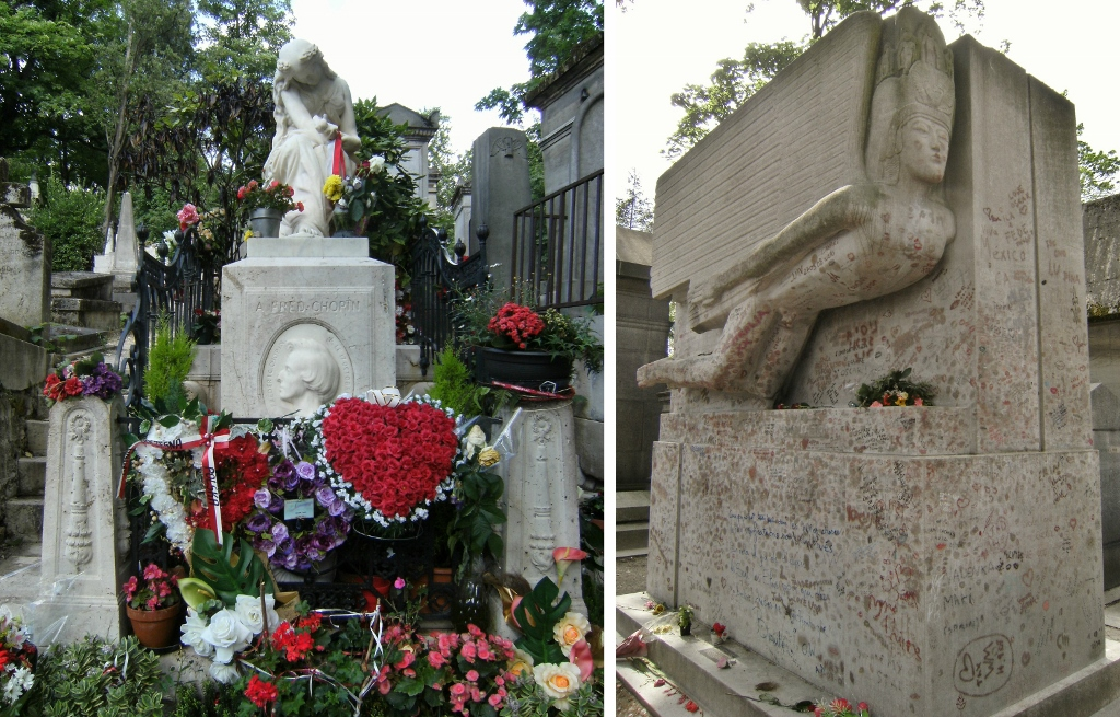 France - Paris - Pere Lachaise  Chopin - Oscar Wilde (1024x655)