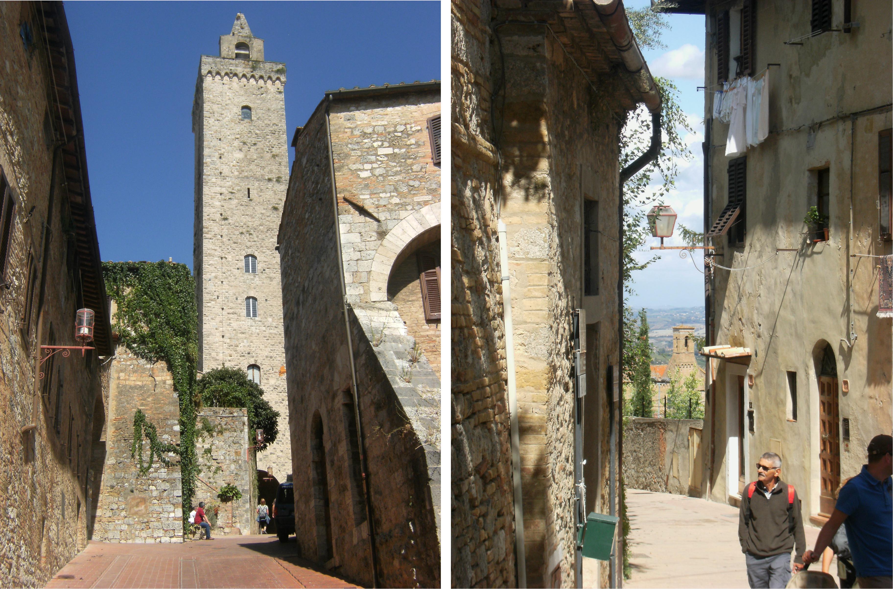 Italy - San Gimignano - Towers - 4