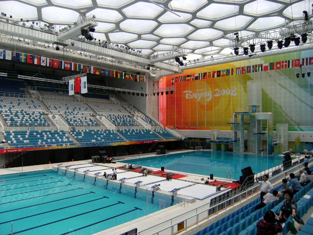 China - Beijing - Olympics - Water Cube - 4 (1024x768)