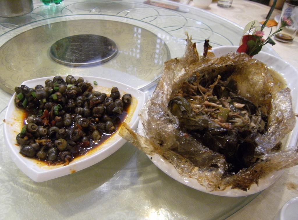 China - Hangzhou - Beggers Chicken and Snails (1024x759)